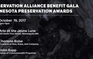 2017 Preservation Alliance Benefit Gala Anouncement