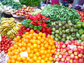 Fresh Produce at Farmers Market